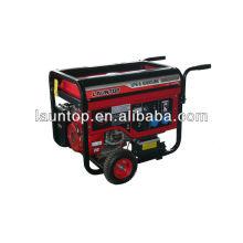 5.0kw LPG и бензиновый генератор с 4-х тактным двигателем с воздушным охлаждением