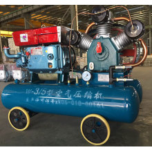 Mining Driven Portable Air Compressor