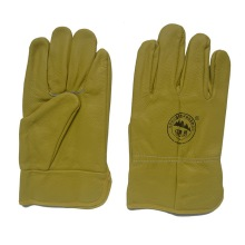 Deep Color Furniture Leather Hand Protective Working Gloves