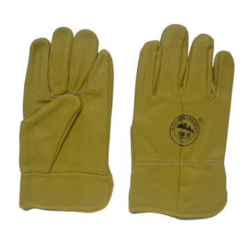 Deep Color Furniture Gants de protection à la main en cuir