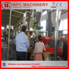 Granulador plástico del PE PP que hace la máquina / máquina del granulador