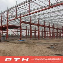 Almacén de estructura de acero de diseño personalizado de Pth con fácil instalación
