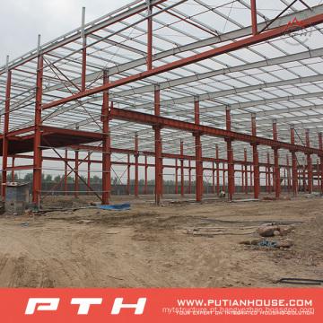 Armazém de estrutura de aço Design personalizado de Pth com fácil instalação
