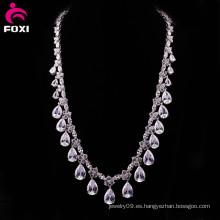 Fine Jewelry China fabricante Collar de piedra AAA