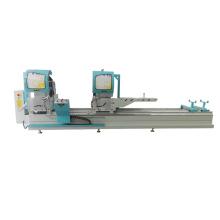 High precision CNC aluminum profile window door double head mitre cutting saw machine for aluminum fabrication