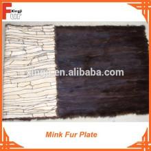 Top Quality Mink Fur Plate