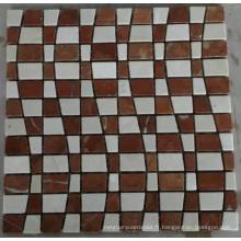 Nouvelle mosaïque de mosaïque en mosaïque en pierre (HSM220)