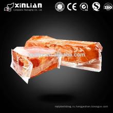 Прозрачный пластиковый пакет для вакуумной упаковки пищевых продуктов