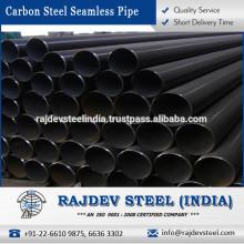 Fabricante indio que vende tubos de acero inoxidable de carbono sin costura - A 53 para uso de aplicaciones múltiples