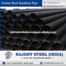 Indian Manufacturer Selling Black Carbon Steel Seamless Pipes - A 53 for Multiple Application Use