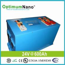 Batería de 24V 600ah 15kwh LiFePO4 para el Sistema Solar Home