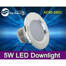 5W led down light 220V Warm color white color solar lights for garden