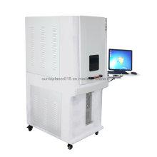 Machine de marquage au laser à fibre optique standard de 20W avec structure complète