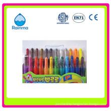 6/8/10/12colors Twist Crayon for Kids