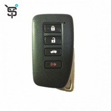 Factory price key remote case for Lexus case remote key 4  button black