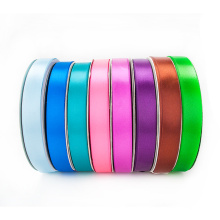 Solid Color Single Faced Polyester Printing Satin Ribbon for Gift Wrapping
