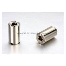 Produzir ímãs de cilindro usados no interruptor