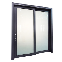 WANJIA  Aluminium Smart automatic Laminated glass sliding door