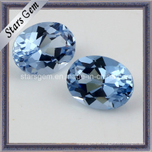 8 * 10mm Forma Oval 108 # Spinel Synthetid Diamante