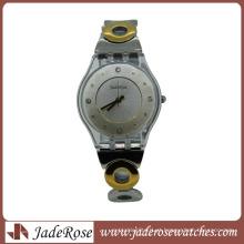 Hot Fashion Luxury Alloy Relógios para mulheres