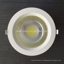 20W 30W 40W 50W COB LED Downlight com certificação CE & RoHS