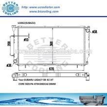 Auto Radiator For Subazu Legacy 89-92 AT OEM:45199AC100/110/260