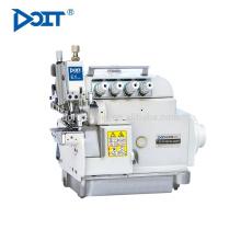 DT5114EXT-03/333 / D Máquina de costura de overlock de alta velocidade do leito do cilindro de alimentação diferencial superior e inferior
