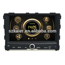 Preço de fábrica wince 6.0 carro gps navigator para Ssangyong Rexton W com GPS / Bluetooth / Rádio / SWC / Virtual 6CD / 3G internet / ATV / iPod
