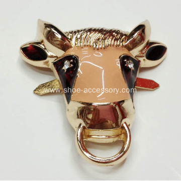 2013 New Constellation Metal Shoe Buckle with Taurus Style