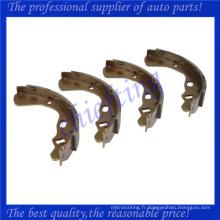 D001-26-38Z DA15-26-38ZA MDX18-26-38Z KK150-26-38ZA KK150-26-310 KK10G-26-38Z KK150-26-38Z pour chaussure de frein kia pride