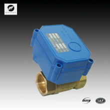 2 way automatic flow control valve with manual override 3-6V,9-24V
