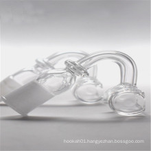 Rectangle Quartz Banger for Tabacco with 14mm Male/Female Joint (ES-QZ-025)