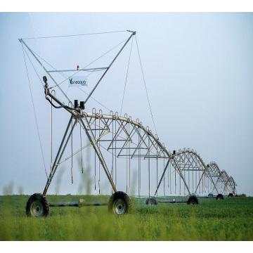 Equipamento de irrigação de roda de aço galvanizado / sistema de irrigação por energia solar
