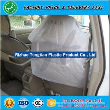 Cubierta de asiento de coche de plástico desechable HDPE o LDPE de alta calidad