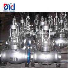 Catálogo de hierro fundido Ci C Diferencia entre bola y compuerta V Ansi Cl150 Válvula globo de 4 pulgadas Vapor