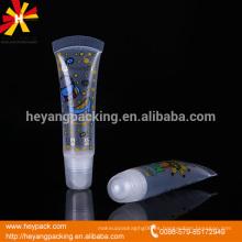 12ml el sellado del ventilador y el envase de plástico transparente con la tapa