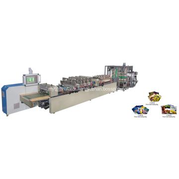 High Speed Three Side Sealing Bag Making Machine