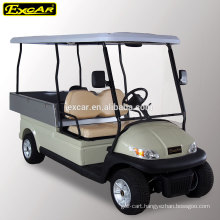 EXCAR mini electric car with cargo box/utility vehicle/electric golf buggy car