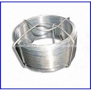 Hot DIP galvanizado pequeno fio de bobina / fio de ferro