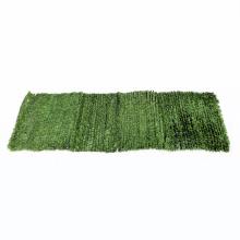 УФ-защиты пластиковой изгородью искусственными листьями экрана уединения