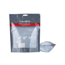 Print Stand up Plastic Packaging PE Recyclable Reclosable Zipper Ziplock Clothing Underwear Bag