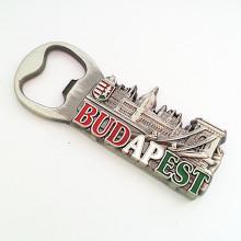 Budapest Premium Promotion Cierre de cerveza personalizado con refrigerador Magnet (F5034)