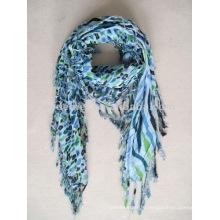 Вискоза печать квадратный шарф новый дизайн