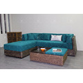 2017 Retro Style Water Hyacinth Sofa Set Indoor Living Set