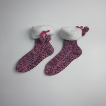 Cute Cotton Winter Non Slip Room Socks