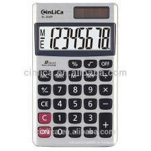 8-значный карманный электронный калькулятор и калькулятор солнечной погоды с низкой ценой