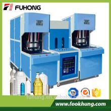 Ningbo Fuhong Ce certificado 2L 5L 10L semi-automático plástico pet preforme soprando máquina de moldagem para pet preofrm