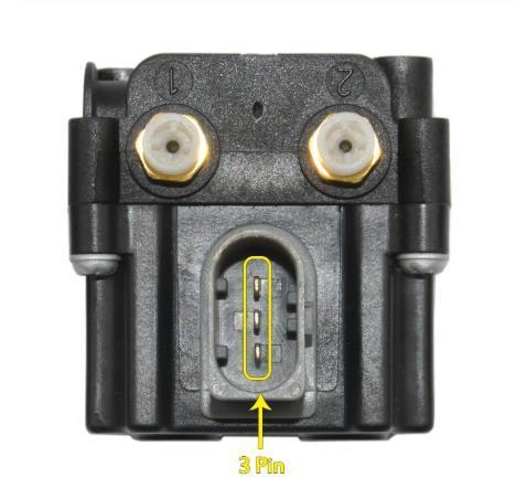 Detail of 37206789937 Air Compressor Block Solenoid Valve Coil