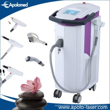Mutifunction Ausrüstung Vertikale IPL Shr Opt Laser-Haar-Abbau-Maschine