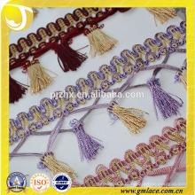 Tecido de corte de contas indianas para cortina e tampa de almofada